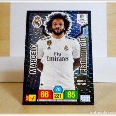 Cromos de Fútbol: ADRENALYN 2018 2019 18 19 PANINI MARCELO Nº 239 B PLATINUM 10 REAL MADRID CROMO LIGA ÁLBUM FÚTBOL. Lote 195354541