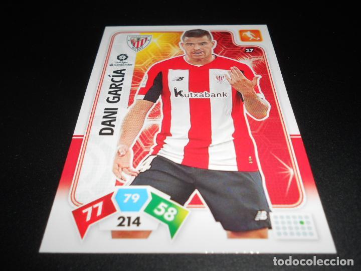 27 DANI GARCIA ATHLETIC BILBAO CARDS ADRENALYN XL LIGA FUTBOL 2019 2020 19 20 PANINI (Coleccionismo Deportivo - Álbumes y Cromos de Deportes - Cromos de Fútbol)