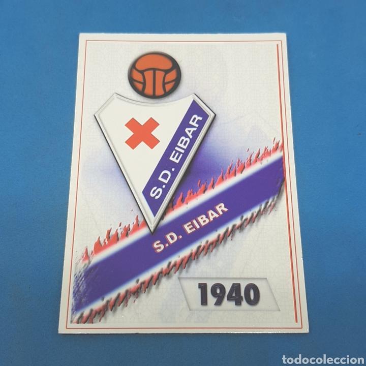 (C-30) MUNDICROMO LIGA 2007-2008. 2ª DIVISION (S.D. EIBAR) N°569 ESCUDO (Coleccionismo Deportivo - Álbumes y Cromos de Deportes - Cromos de Fútbol)