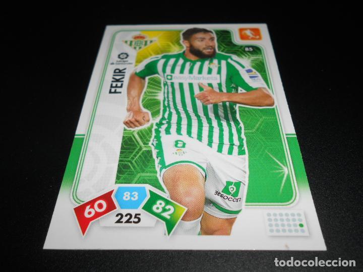 85 FEKIR BETIS CARDS ADRENALYN XL LIGA FUTBOL 2019 2020 19 20 PANINI (Coleccionismo Deportivo - Álbumes y Cromos de Deportes - Cromos de Fútbol)
