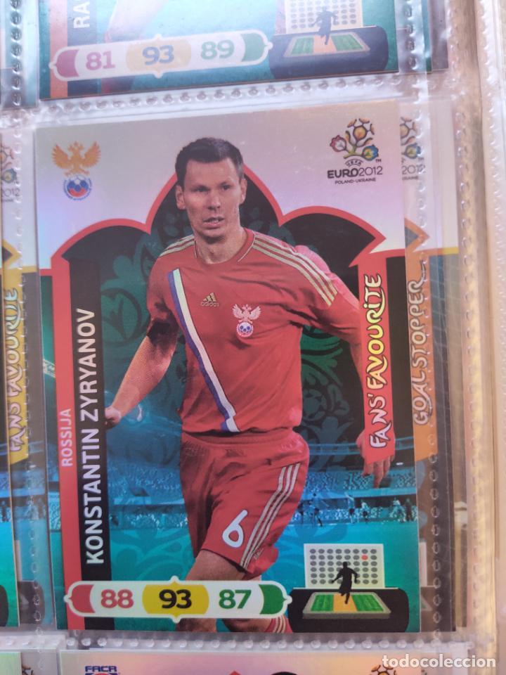 KONSTANTIN ZYRYANOV (ROSSIJA) FANS' FAVOURITE EURO 2012 ADRENALYN NUEVO (Coleccionismo Deportivo - Álbumes y Cromos de Deportes - Cromos de Fútbol)
