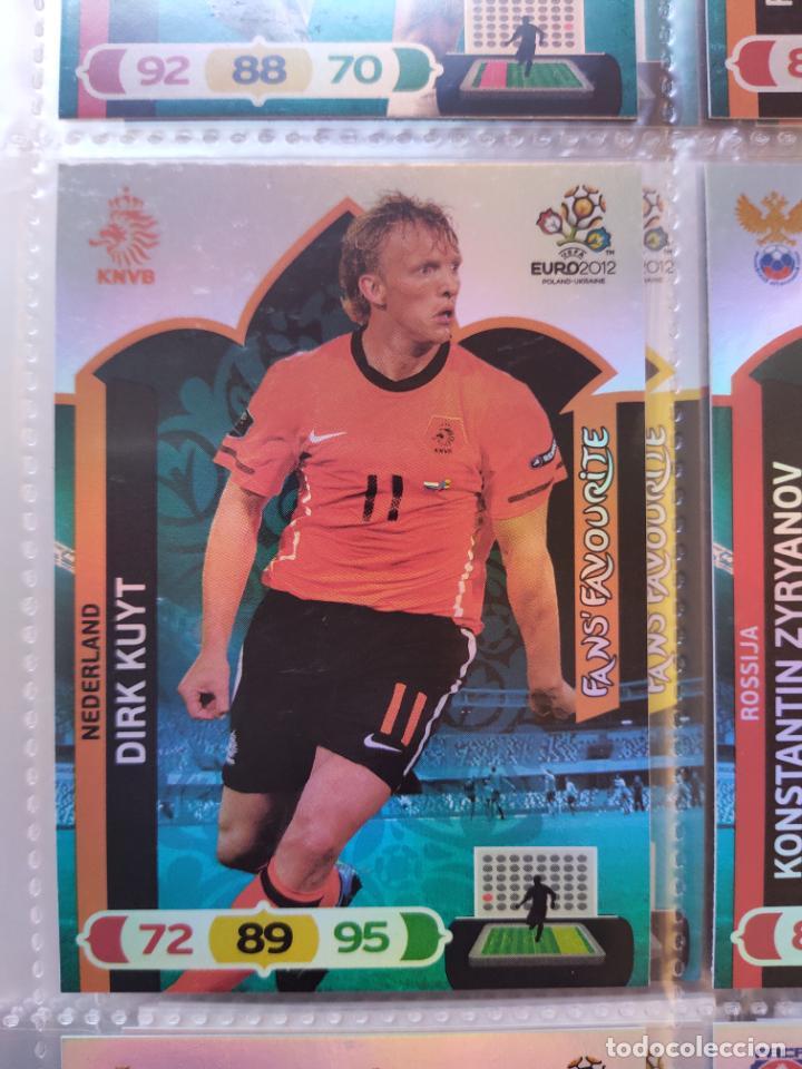 DIRK KUYT (NEDERLAND) FANS' FAVOURITE EURO 2012 ADRENALYN NUEVO (Coleccionismo Deportivo - Álbumes y Cromos de Deportes - Cromos de Fútbol)