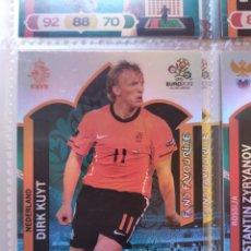 Cromos de Fútbol: DIRK KUYT (NEDERLAND) FANS' FAVOURITE EURO 2012 ADRENALYN NUEVO. Lote 195379392