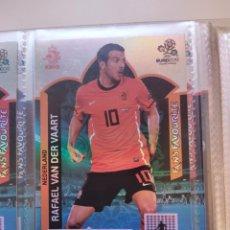 Cromos de Fútbol: RAFAEL VAN DER VAART (NEDERLAND) FANS' FAVOURITE EURO 2012 ADRENALYN NUEVO. Lote 195379455