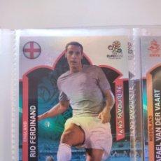 Cromos de Fútbol: RIO FERDINAND (ENGLAND) FANS' FAVOURITE EURO 2012 ADRENALYN NUEVO. Lote 195379535
