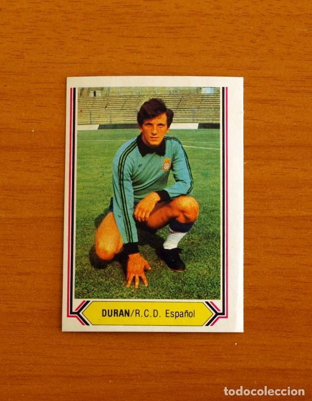 R.C.D. ESPAÑOL, ESPANYOL - DURÁN - EDICIONES ESTE 1980-1981, 80-81 - CROMO NUNCA PEGADO (Coleccionismo Deportivo - Álbumes y Cromos de Deportes - Cromos de Fútbol)