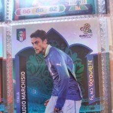 Cromos de Fútbol: CLAUDIO MARCHISIO (ITALIA) FANS' FAVOURITE EURO 2012 ADRENALYN NUEVO. Lote 195379628