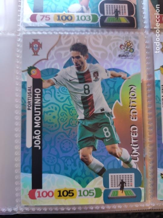 JOÃO MOUTINHO (PORTUGAL) LIMITED EURO 2012 ADRENALYN NUEVO (Coleccionismo Deportivo - Álbumes y Cromos de Deportes - Cromos de Fútbol)