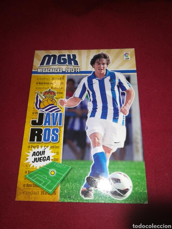 MEGACRACKS 2013-14 JAVI ROS REAL SOCIEDAD #280 BIS (Coleccionismo Deportivo - Álbumes y Cromos de Deportes - Cromos de Fútbol)