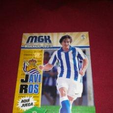 Cromos de Fútbol: MEGACRACKS 2013-14 JAVI ROS REAL SOCIEDAD #280 BIS. Lote 195389566