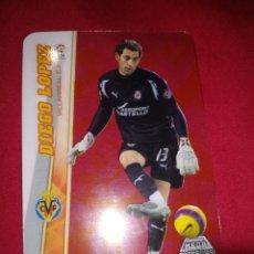 Cromos de Fútbol: MEGACRACKS MEGA ESTRELLAS 2008-2009 DIEGO LOPEZ #362. Lote 195390066