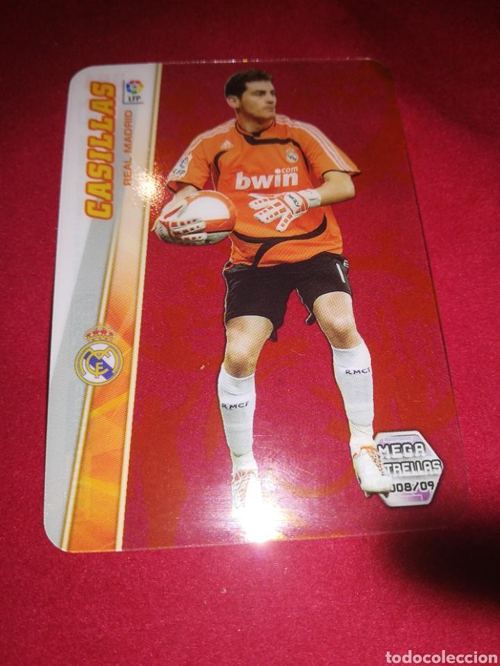 MEGACRACKS CASILLAS REAL MADRID MEGA ESTRELLAS 2008-2009 (Coleccionismo Deportivo - Álbumes y Cromos de Deportes - Cromos de Fútbol)