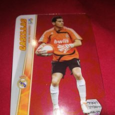 Cromos de Fútbol: MEGACRACKS CASILLAS REAL MADRID MEGA ESTRELLAS 2008-2009. Lote 195390185