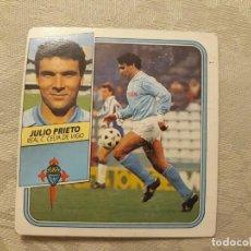 Cromos de Fútbol: JULIO PRIETO CELTA NUNCA PEGADO ED ESTE 89 90 CROMO FUTBOL LIGA 1989 1990. Lote 195412708