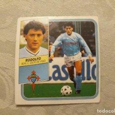 Cromos de Fútbol: RODOLFO CELTA NUNCA PEGADO ED ESTE 89 90 CROMO FUTBOL LIGA 1989 1990. Lote 195412787