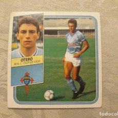 Cromos de Fútbol: OTERO CELTA NUNCA PEGADO ED ESTE 89 90 CROMO FUTBOL LIGA 1989 1990. Lote 195412893