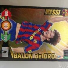 Cromos de Fútbol: CROMO MESSI BALÓN DE ORO ADRENALYN 2009-10. Lote 195413476