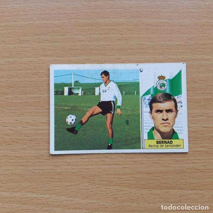 BAJA BERNAD RACING DE SANTANDER EDICIONES ESTE 1986 1987 LIGA 86 87 SIN PEGAR NUNCA PEGADO (Coleccionismo Deportivo - Álbumes y Cromos de Deportes - Cromos de Fútbol)