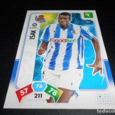 Cromos de Fútbol: 286 ISAK REAL SOCIEDAD CARDS ADRENALYN XL LIGA FUTBOL 2019 2020 19 20 PANINI. Lote 195428022