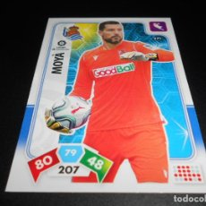 Cromos de Fútbol: 271 MOYA REAL SOCIEDAD CARDS ADRENALYN XL LIGA FUTBOL 2019 2020 19 20 PANINI. Lote 195428071