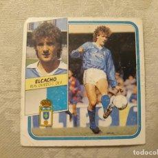 Cromos de Fútbol: ELCACHO OVIEDO NUNCA PEGADO ED ESTE 89 90 CROMO FUTBOL LIGA 1989 1990. Lote 195428110