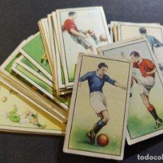 Cromos de Fútbol: CROMOS DE FUTBOL-COLECCION COMPLETA DE 48 CROMOS DE FOOTBALL-VER FOTOS-(V-19.215). Lote 195430608