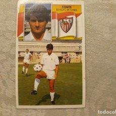 Cromos de Fútbol: CONTE SEVILLA CF NUNCA PEGADO ED ESTE 90 91 CROMO FUTBOL LIGA 1990 1991. Lote 195432332