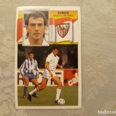Cromos de Fútbol: RAMON SEVILLA CF NUNCA PEGADO ED ESTE 90 91 CROMO FUTBOL LIGA 1990 1991. Lote 195432387