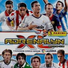 Cromos de Fútbol: ADRENALYN 2012-13 CHECK-LIST. Lote 195454663