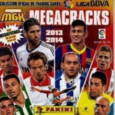 Cromos de Fútbol: MEGACRACKS 2013-14 MEGACHECKLIST. Lote 195454850
