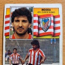Cromos de Fútbol: ESTE 1990-1991: MOSKA (ATHLETIC) FICHAJE NÚMERO 8. Lote 195471973