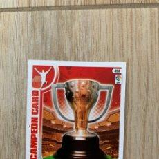 Cromos de Fútbol: CAMPEÓN CARD ADRENALYN 2013 2013 (13-14). Lote 195472377
