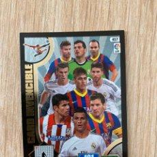 Cromos de Fútbol: CARD INVENCIBLE ADRENALYN 2013 2014 (13-14). Lote 195472410