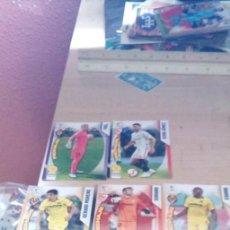 Cromos de Fútbol: 5 CROMOS MGK DE LA LIGA 2018-2019 FICHAJES. Lote 195472478