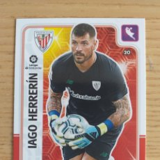 Cromos de Fútbol: FÚTBOL IAGO HERRERÍN ATHLETIC BILBAO CROMO CARDS ADRENALYN XL 2019 2020 19 20 PANINI. Lote 195479531