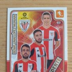 Cromos de Fútbol: FÚTBOL TRIDENTE ATHLETIC BILBAO CROMO CARDS ADRENALYN XL 2019 2020 19 20 PANINI. Lote 195479582