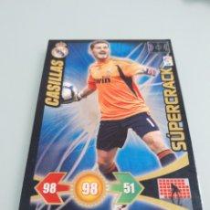 Cromos de Fútbol: CROMO CASILLAS SÚPER CRACK ADRENALYN LIGA 2009 2010 09 10. Lote 195479705