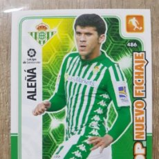 Cromos de Fútbol: 486 ALEÑA BETIS TOP NUEVO FICHAJE ADRENALYN XL PANINI 2019 2020 19 20. Lote 195484392