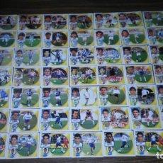 Cromos de Fútbol: EDICIONES ESTE AÑOS 90 - LOTE 625 CROMOS DIFERENTES (94 95, 97 98, 98 99 Y 99 00) LEER DESCRIPCION. Lote 195502600