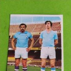 Cromos de Fútbol: CELTA 40 JIMENEZ BUA RUIZ ROMERO 75 76 1975 1976 RECUPERADO. Lote 195503553