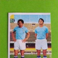 Cromos de Fútbol: CELTA 37 CASTRO DOBLAS RUIZ ROMERO 75 76 1975 1976 RECUPERADO. Lote 195503703
