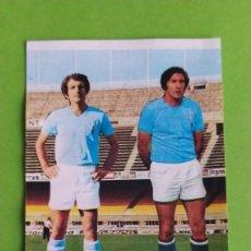 Cromos de Fútbol: CELTA 39 RIVAS NAVARRO RUIZ ROMERO 75 76 1975 1976 RECUPERADO. Lote 195503912