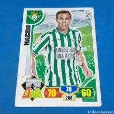 Cromos de Fútbol: (C-30) ADRENALYN LIGA 2013-2014 (BETIS) N°77 NACHO. Lote 195515098