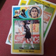 Cromos de Fútbol: ESTE 93 94 1993 1994 SIN PEGAR RAYO VALLECANO TONI BAJA. Lote 195530613