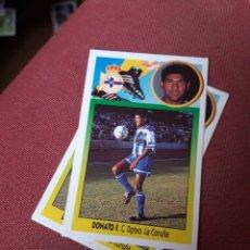 Cromos de Fútbol: ESTE 93 94 1993 1994 SIN PEGAR DONATO DEPORTIVO CORUÑA. Lote 195530743
