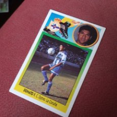 Cromos de Fútbol: ESTE 93 94 1993 1994 SIN PEGAR DONATO DEPORTIVO CORUÑA. Lote 195530752