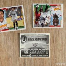 Cromos de Fútbol: 3 CROMOS SEVILLA LIGA ESTE 2010 2011. 10-11. Lote 195533818
