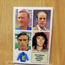 Cromos de Fútbol: ESTE LIGA 82/83.. ENTRENADORES VERSION DIFÍCIL DUNAI.... RECUPERADO... Lote 195533922