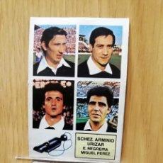 Cromos de Fútbol: ESTE LIGA 82/83.. ÁRBITROS. SÁNCHEZ ARMINIO-URIZAR.. RECUPERADO.... Lote 195534543