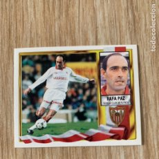 Cromos de Fútbol: CROMO EDICIONES ESTE SEVILLA 1995 1996. RAFA PAZ 95-96. Lote 195539920